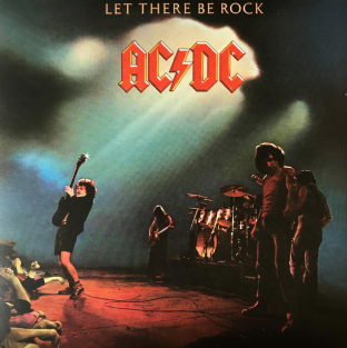 AC/DC ‎– Let There Be Rock (LP) (180g Vinyl) (EX/G-VG)
